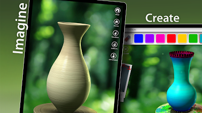 Let's Create! Pottery Androidアプリ
