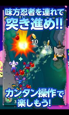 LINE 忍者ストライカーズ Androidアプリ