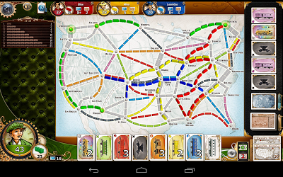 Ticket to Ride Androidアプリ