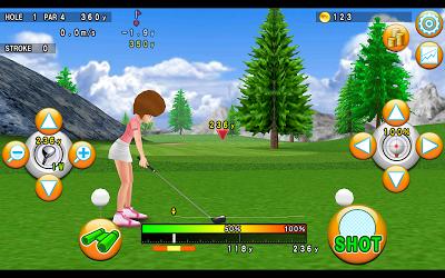 ゴルフモデラ♪Golfコースも作れる無料ゴルフゲームアプリ Androidアプリ