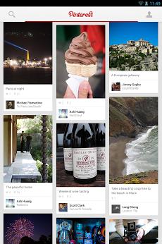 Pinterest(ピンタレスト) Androidアプリ