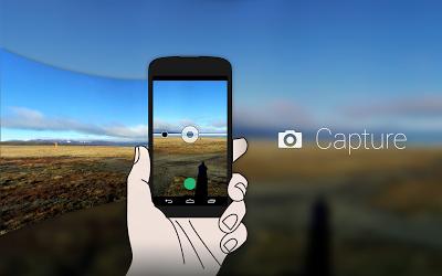 パノラマ360:全体像 Androidアプリ