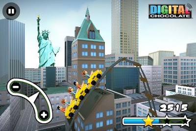 3D Rollercoaster Rush New York Androidアプリ