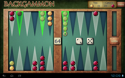 Backgammon Free Androidアプリ