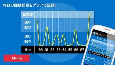 快眠サイクル時計 -無料の目覚まし時計アラーム Androidアプリ