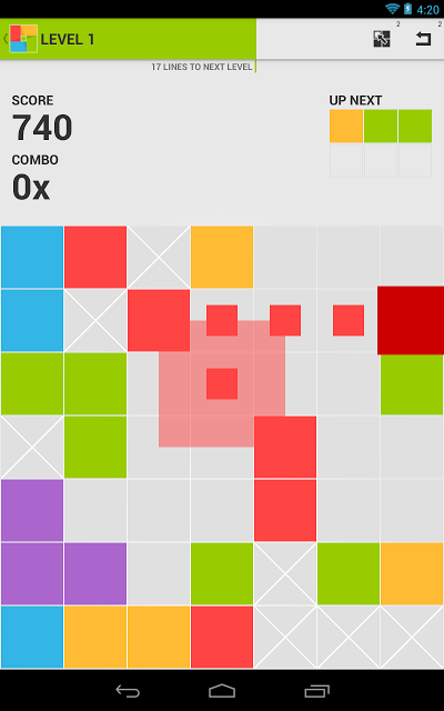 7x7 - Best Color Strategy Game Androidアプリ