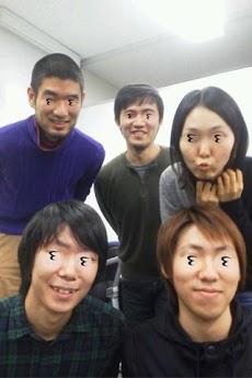 『メガネを外したときの顔になるカメラ』 Androidアプリ