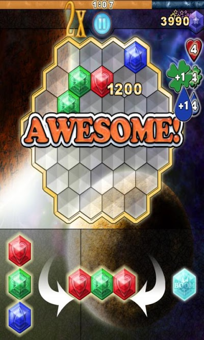 Reiner Knizia's Clustermaster Androidアプリ