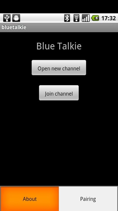 Blue Talkie Androidアプリ