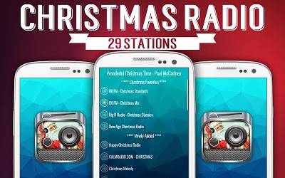 クリスマスラジオ Androidアプリ