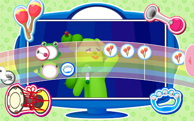 「おかあさんといっしょ」「みいつけた!」の【リズムあそび 】Eテレ人気曲で遊べる子ども向けアプリ Androidアプリ