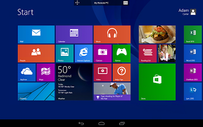 Microsoft Remote Desktop Androidアプリ