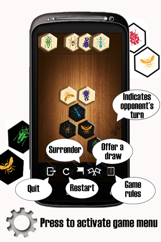 Hive™ - board game for two ハイヴ Androidアプリ