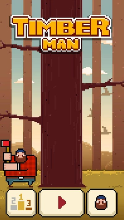 Timberman Androidアプリ