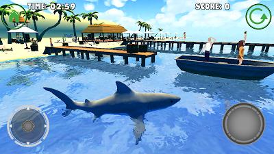 Shark Simulator Androidアプリ