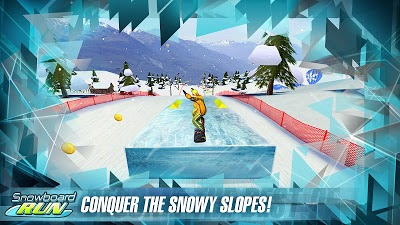 Snowboard Run Androidアプリ