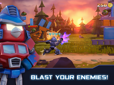 Angry Birds Transformers Androidアプリ