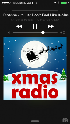 クリスマス・ラジオ (Christmas Radio) iPhoneアプリ