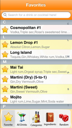 8,500+ Drink Recipes iPhoneアプリ