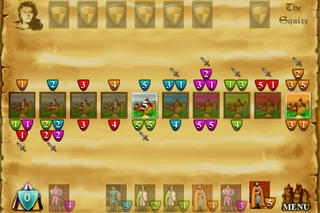 Reiner Knizia's Knights of Charlemagne iPhoneアプリ