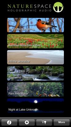 Naturespace:リラックススリープドリーム iPhoneアプリ