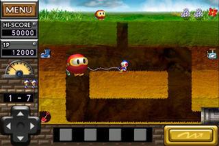Dig Dug REMIX iPhoneアプリ