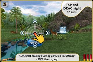 Deer Hunter 3D iPhoneアプリ