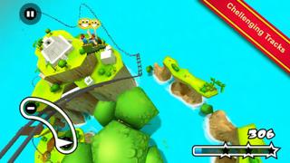 Jurassic 3D Rollercoaster Rush iPhoneアプリ