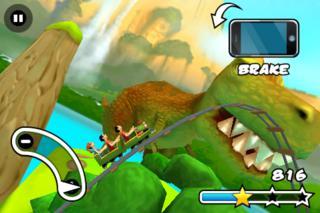 Jurassic 3D Rollercoaster Rush FREE iPhoneアプリ