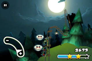 Haunted 3D Rollercoaster Rush FREE iPhoneアプリ