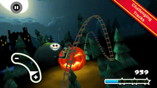 Haunted 3D Rollercoaster Rush iPhoneアプリ