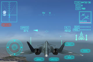 ACE COMBAT Xi Skies of Incursion iPhoneアプリ
