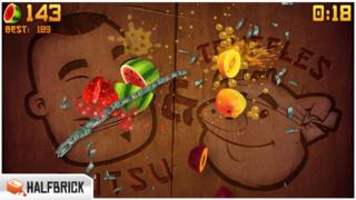 Fruit Ninja Classic iPhoneアプリ