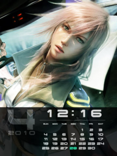 FINAL FANTASY XIII  Larger-than-Life Gallery for iPad iPadアプリ