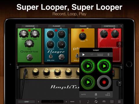 AmpliTube for iPad iPadアプリ