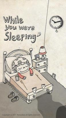 あなたが寝てる間に iPhoneアプリ