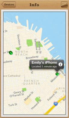 iPhoneを探す iPhoneアプリ