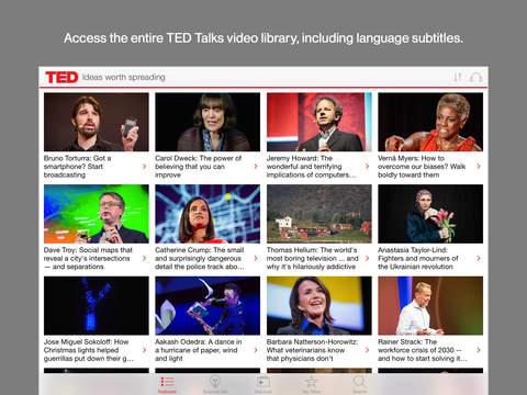 TED iPadアプリ