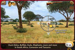 Deer Hunter: African Safari iPhoneアプリ