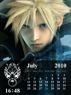 FINAL FANTASY VII ADVENT CHILDREN COMPLETE Larger-than-Life Gallery iPadアプリ