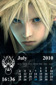 FINAL FANTASY VII ADVENT CHILDREN COMPLETE Larger-than-Life Gallery iPhoneアプリ