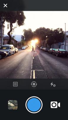 Instagram iPhoneアプリ