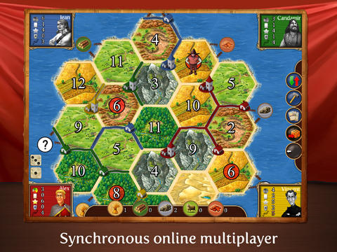 Catan Classic HD iPadアプリ