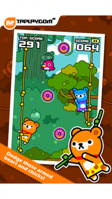 Tap Tap Jump - Tappi Bear iPhoneアプリ