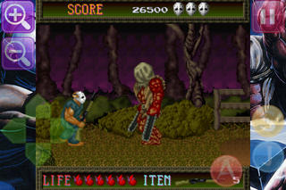SPLATTERHOUSE iPhoneアプリ