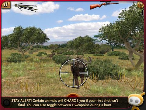 Deer Hunter: African Safari for iPad iPadアプリ