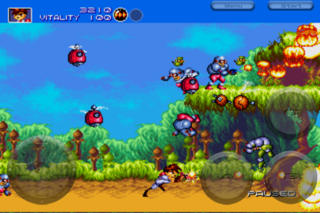 Gunstar Heroes Classic iPhoneアプリ