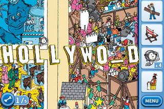 ウォーリー ハリウッドへいく』 iPhoneアプリ