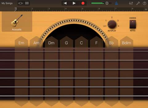 GarageBand iPadアプリ