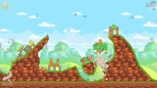 Angry Birds Free iPhoneアプリ